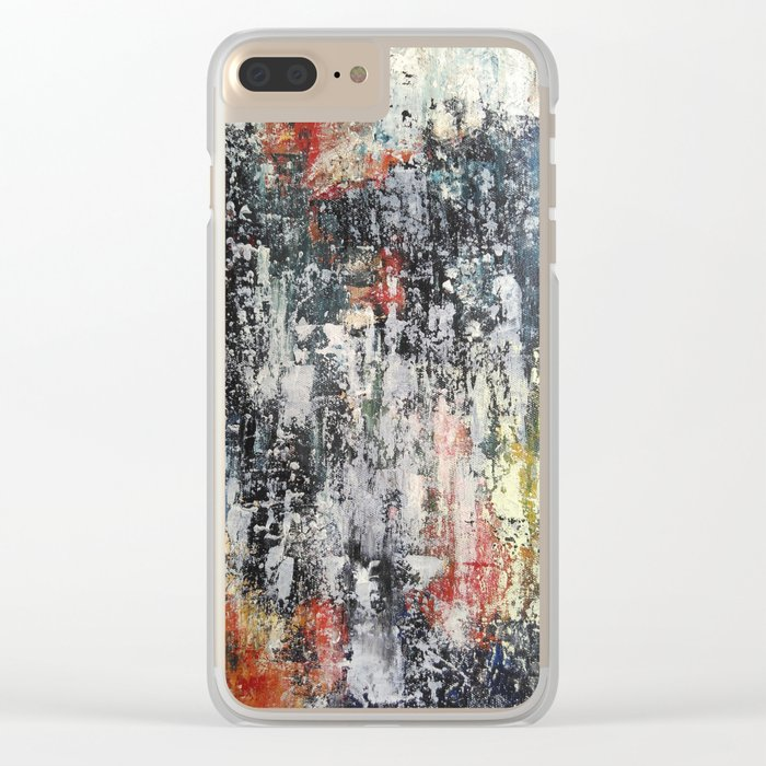 Night lights 2 Clear iPhone Case