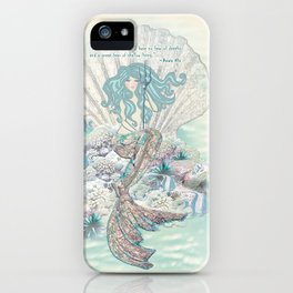 Anais Nin Mermaid [vintage inspired] Art Print iPhone Case