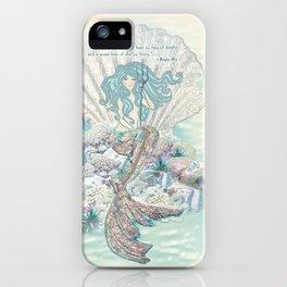 Anais Nin Mermaid [vintage inspired] Art Print iPhone Case