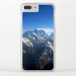 Ocean of Mountains Clear iPhone Case