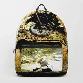 Dirt-bike Racer Backpack