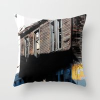 istanbul Throw Pillows featuring Istanbul  by cArt