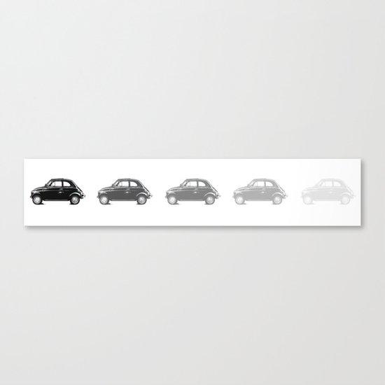 car 5oo Canvas Print