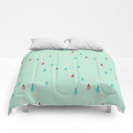 Raindrop Repeat Comforters