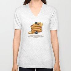 Fluffy Pancakes Unisex V-Neck