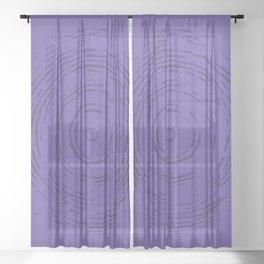 Violet Rainbow Sheer Curtain