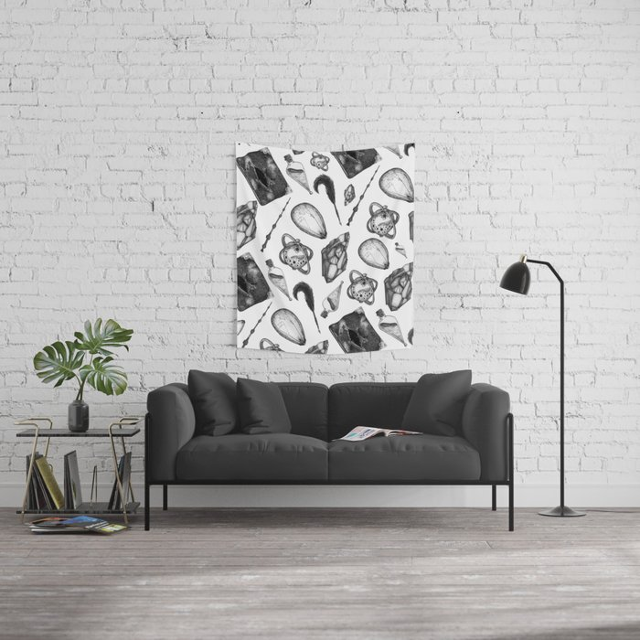 hp artifacts pattern Wall Tapestry