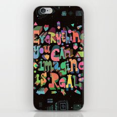 Everything You Can Imagine iPhone & iPod Skin