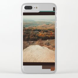 Transilvanian Landscapes Clear iPhone Case