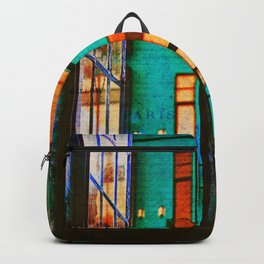 Outside My Window, Urban Art Backpack