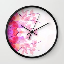 Soft butterfly Wall Clock