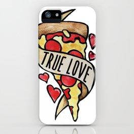 Pizza True Love iPhone Case