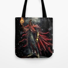 Epic Vincent Valentine Final Fantasy Painting Portrait Tote Bag
