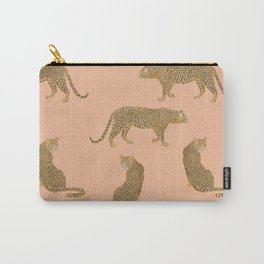 sunset leopards Carry-All Pouch