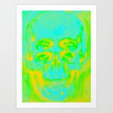 POP Skull Art Print