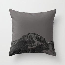 Nature / Winter Mountains Throw Pillow