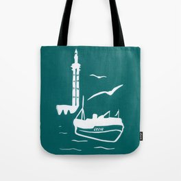 Home in Turquoise Tote Bag