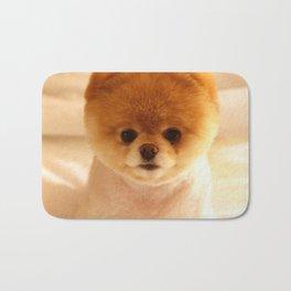 Adorable Pomeranian Puppy Bath Mat