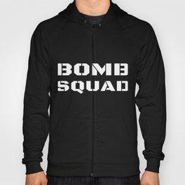 Bomb Squad Disposal Technician Police Unit Uniform On Duty Hoody