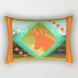 chamois d'or Rectangular Pillow