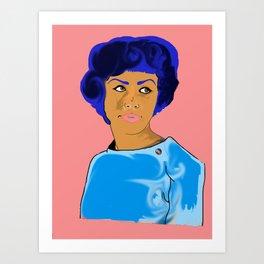 Mama T Art Print