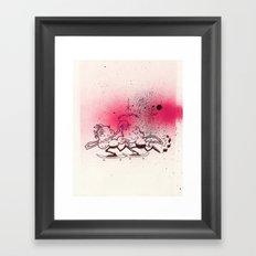 Vague Illusions Framed Art Print