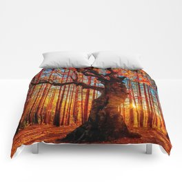 Majestic woods Comforters