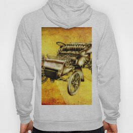 Vintage automobile retro fineart Hoody