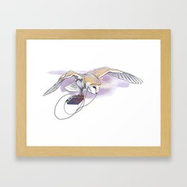 Special Ears Framed Art Print