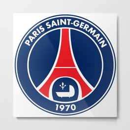 PSG paris saint-germain Metal Print