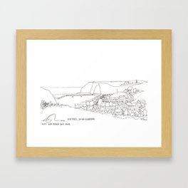 Staithes, Middlesbrough  Framed Art Print