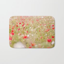 Poppies 02 Bath Mat
