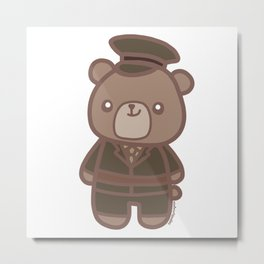 James Bear Metal Print