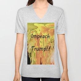 Impeach Trump! Unisex V-Neck