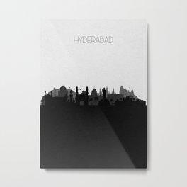 City Skylines: Hyderabad Metal Print