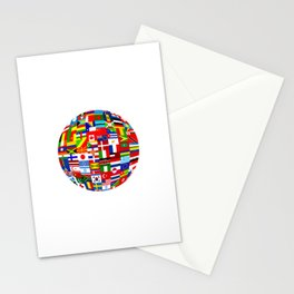 Flag World Stationery Cards