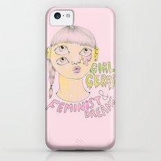 Girl Germs & Feminist Dreams iPhone 5c Slim Case