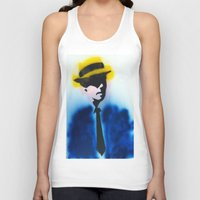 suits Tank Tops featuring SUITS by Clay Bakkum
