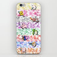 digimon iPhone & iPod Skins featuring Digimon 15th Anniversary by AbigailC