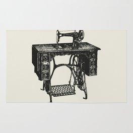 Singer sewing machine Rug