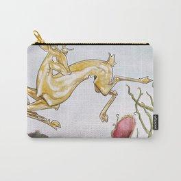 The Golden Deer Carry-All Pouch