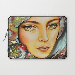 Pivoine- Peony by Sonia Laurin Laptop Sleeve