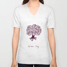 Joy Tree Unisex V-Neck