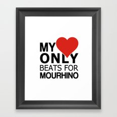ONLY FOR ME Framed Art Print