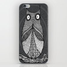 Doodle Owl iPhone Skin