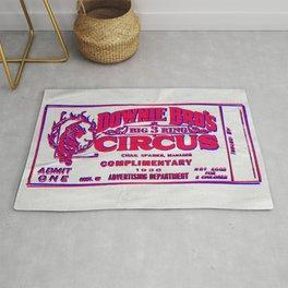 Circus - Retro-Ticket Rug