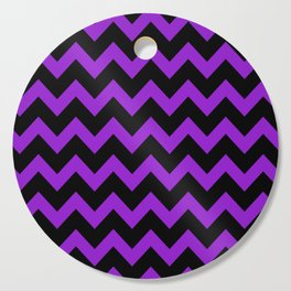 Purple Chevron Cutting Board
