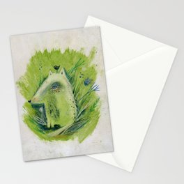A very good Wolf Stationery Cards