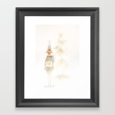 Christmas Elf Framed Art Print