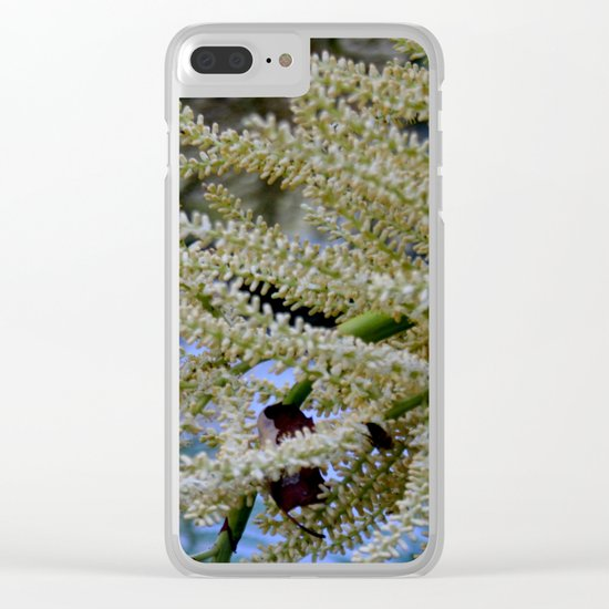 Garden's treasure Clear iPhone Case